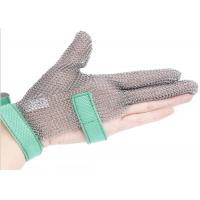 Quality Butcher Anti Cutting Stainless Steel Gloves With Metal Plates , High Strength wholesale