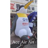 Quality Custom huge inflatable penguin balloon with logo for advertising wholesale