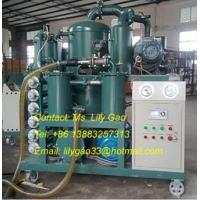 China High Voltage Transformer Oil Purifier, Oil Regeneration Equipment, 6000 Liter/Hour on sale