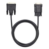 China Black VGA Monitor Cable Gold Plating For PC DVD Monitor HDTV OEM / ODM on sale