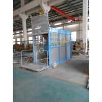 Quality Single / Double Car CH1000 Rack And Pinion Hoists With Mast Hot-dip Galvanized wholesale