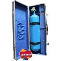 China Protable Small Seamless Steel O2 Cylinder, Seamless Steel Oxygen Cylinder Tanks Specifications on sale