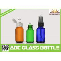 Quality Pump Sprayer Sealing Type And Boston Bottle For Essential Oil,Glass Essential Oil Bottle wholesale