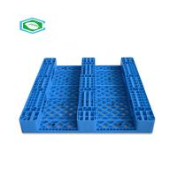 Quality HDPE Reinforced Plastic Pallets 3 Skid Runners Recycled Sturdy Construction wholesale