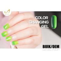 Uv Light Gel Nail Polish , Heat Changing Gel Nail Polish That Changes Color With Mood