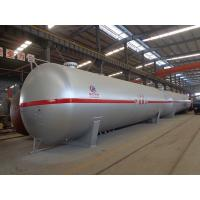 China 100cbm Liquid Propane Gas Tank , Horizontal Transporting Large Propane Tanks on sale