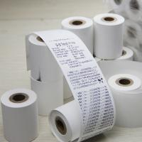 China Pos Machine Receipt Paper Roll Environmental Friendly For Supermarket on sale