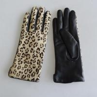 China Fashion Touchscreen Winter Gloves , Comfortable Womens Leather Dress Gloves on sale