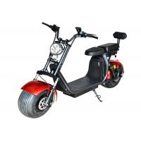 Quality 45KM/H City Coco Electric Scooter / Electric Motorcycle Scooter Minimum Ground Clearance 110MM wholesale