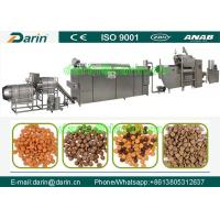 Buy cheap Professional and affordablepet food processing line / dog food making machine product