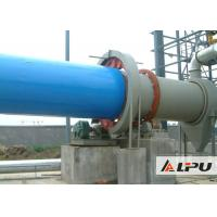 Quality Industrial Slag / Limestone / Quartz Sand Drying Equipment with Automatic PLC Control wholesale