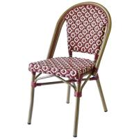 Quality All Weather Resistance SGS Bamboo Look Restaurant Bistro Chairs wholesale