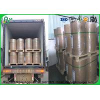 Quality 100% Virgin 889mm 80g Uncoated Printing Paper , Jumbo Roll Inkjet Printing Paper wholesale