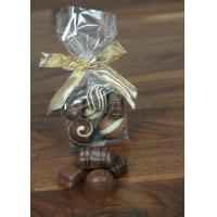 CPP / BOPP Small Clear Block Bottom Bags For Dates Cookies