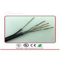 Quality Self Supporting Ethernet Network Cable Cat6 4 Pairs 8 Cores With Steel Wire wholesale