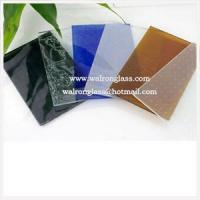 Quality 6mm 8mm Black/Blue, Bronze/White/Clear Silk Screen Tempered/Toughened Glass wholesale