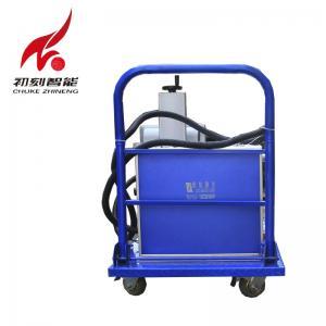 China High End Atmosphere Metal Marking Machine 0.15mm Minimum Character Beautiful Shape on sale