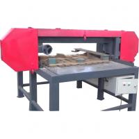 Buy cheap Wood Pallet Dismantler For Sales / Pallet Dismantling Horizontal Band Sawmill from wholesalers
