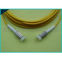 Quality 2.0mm Duplex Zip Cord D4 Connector SM Yellow Fiber Optic Patch Cable wholesale