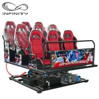 Quality Multiplayer Six Seats Mobile Truck Cinema Special Effects 5D 7D Movie wholesale