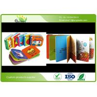 Quality Color Printing Childrens Board Books , Film Lamination Popular Toddler Books wholesale