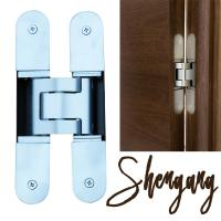 Buy cheap 180 degree 3d adjustable invisible hinge for concealed door from wholesalers