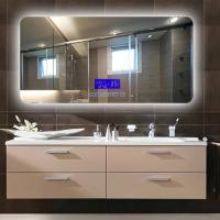 Quality Wall Mounted LED Bathroom Mirror With Radio Fingerprint - Free wholesale