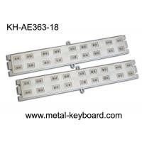 Quality Customized 18 Keys StainlesssteelKeyboard for Door Access System wholesale