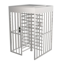 Quality Anti Rust SUS304 Full Height Turnstile Gate Access Control Security Systems wholesale