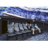 Quality Dome Special Buildings 3D Movie Cinema Curved Screen Immersive Cinema With 4D Motion Seats wholesale