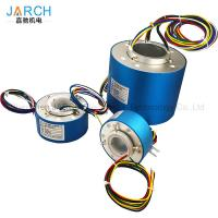 Quality Hollow Shaft Through Bore Electrical Slip Ring Long - Life For Robotic Manufacturing Equipment wholesale