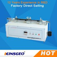 Quality AC 220V 50Hz 400W Portable Fabric / Textile Testing Equipment with Manual Automatic Operation wholesale