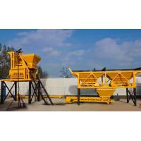 Quality 50Hz HZS25 Concrete Batching Plant , AC 380V Mobile Ready Mix Concrete Plant wholesale