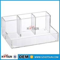 Quality wholesale Desk Stationery With Pen Holder acrylic Office Desk Organizer wholesale