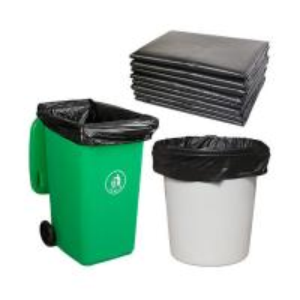 China High Density Polyethylene Big Trash Bags , HDPE Trash Bags stretchable on sale