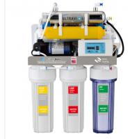 Buy cheap 8 stages alkaline with UV lamp reverse osmosis water filtration system from wholesalers