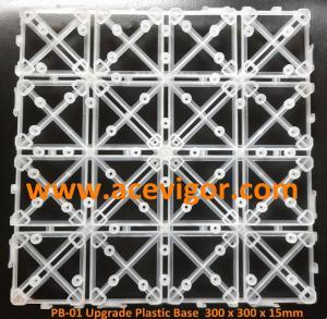 Cheap PB-01 Upgrade Interlocking Plastic Base for decking tiles for sale