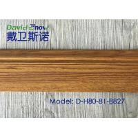 Quality UV Coating Plastic Skirting Board Laminated Floor Accessories High Density wholesale