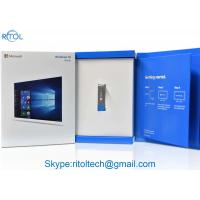 Quality Win 10 Microsoft Computer Operating Systems 64 Bit Home OEM Pack For Laptop / Desktop wholesale