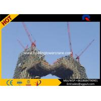 China Topkit Building Tower Crane Height 65M Internal Climbing Remote Control on sale