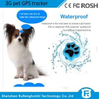 Quality worlds newest cheap mini 3g pet gps gsm tracker for small pet/dog/cat RF-V40 wholesale