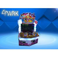 China Attack On Monster Redemption Game Machine ,  Indoor Lottery Ticket Counter Machine on sale