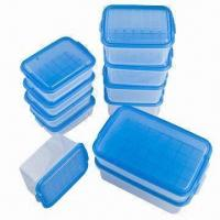 Quality Food Container Set, FDA/EN 71 Certified, Made of PP, Available in Various Sizes and Colors, BPA-free wholesale