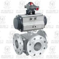 Quality Pneumatic High Platform 3-Way Ball Valve (Flange Type) wholesale