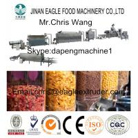 China Electric Automatic Corn Flakes Machine Stainless Steel With 3 Phase on sale