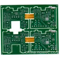 Quality Green Rigid Flex PCB High Speed Layout Immersion Tin 1 - 24 Layers Support wholesale