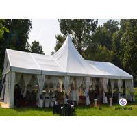 Buy cheap 20x20 20x30 30x60 Clear Outdoor Big Glass Events Party Tents European tent from wholesalers
