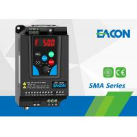 Quality 220V AC Drive / AC Frequency Inverter 0.75kW VFD For Single Phase Motor wholesale