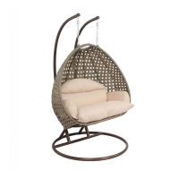 Quality Width 52inch Depth 38inch Rattan Hanging Egg Chair For Adult wholesale