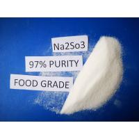 China Cas No7757 83 7 Sodium Sulfite Food Grade Na2SO3 97% Purity For Pharmaceutical Industry on sale